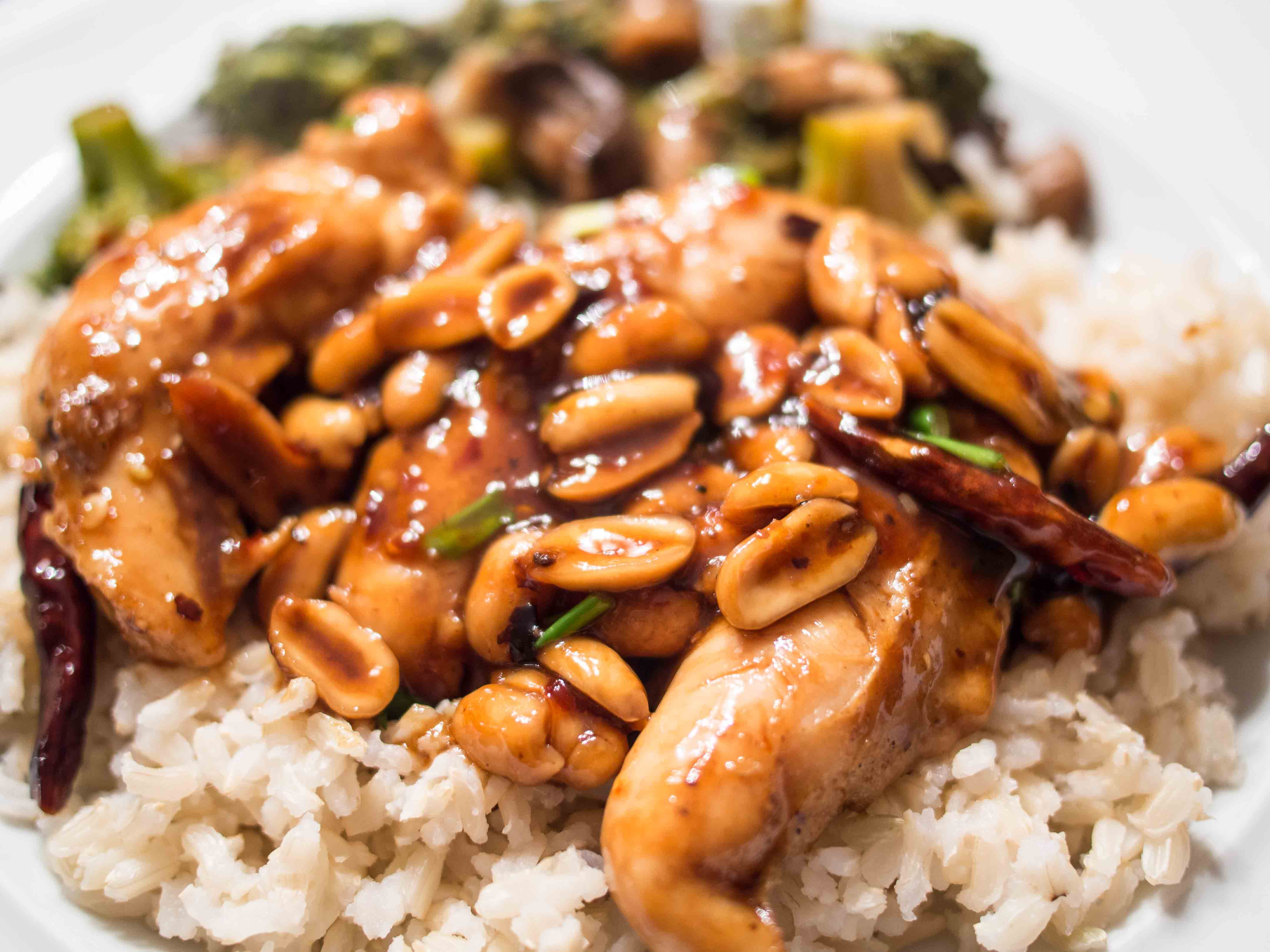 Kung Pao Chicken - Food & Fire