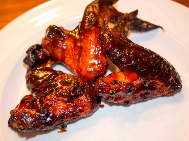 Grilled Korean Chicken Wings