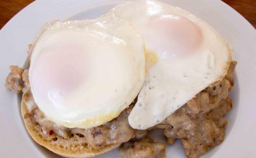 Eggs and Sausage Gravy